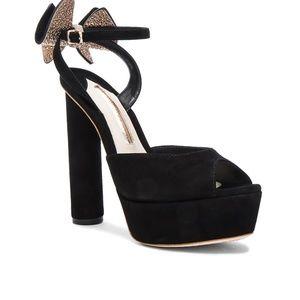 Sophia Webster Suede Raye Platform Heels